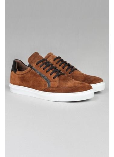 CZ London Hakiki Deri Sneaker Taba